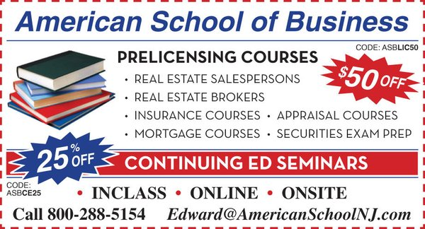 American School Of Business Essex 149 Main St 46 Garfield Nj