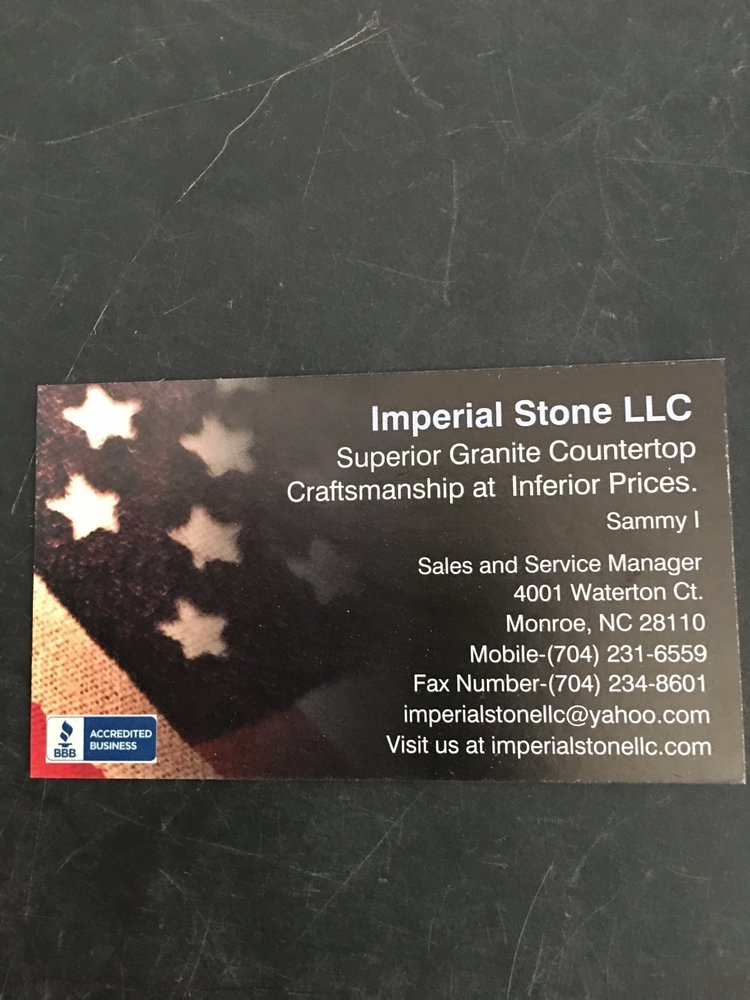 Imperial Stone: 4001 Waterton Ct, Monroe, NC