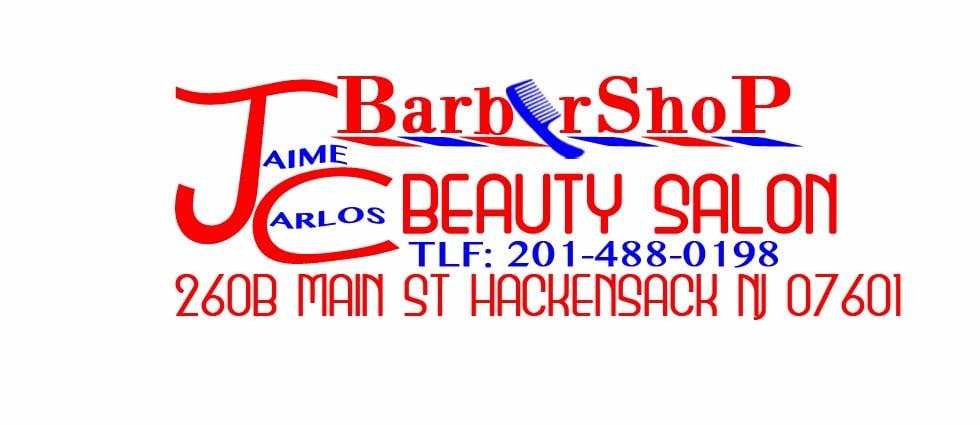 Jaime Carlos Barbershop & Beauty Salon   260 Main St, Hackensack, NJ, 07601   +1 (201) 488-0198