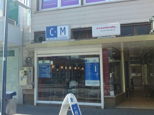 C M Friseur Hair Salons Frankfurter Str 37 Offenbach Hessen