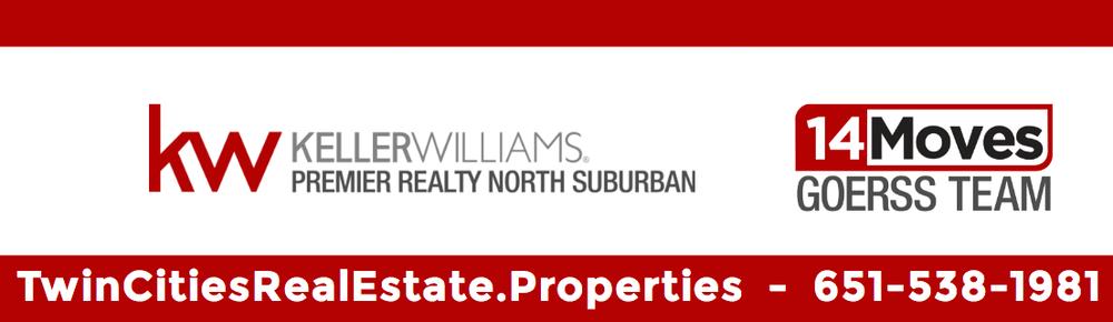 14 Moves Goerss Team - Keller Williams Premier Realty: 1398 Lake St S, Forest Lake, MN