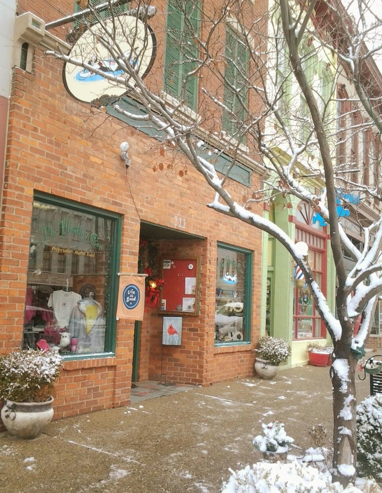 The Floating Cow & Other Things Beautiful: 113 E Main St, Madison, IN