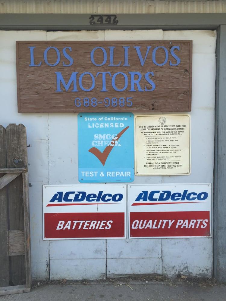 Los Olivos Motors: 2446 Jonata, Los Olivos, CA