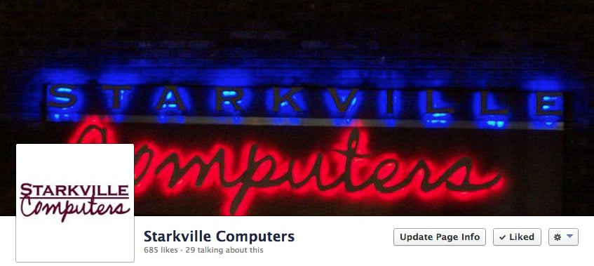 Starkville Computers: 100 Russell St, Starkville, MS