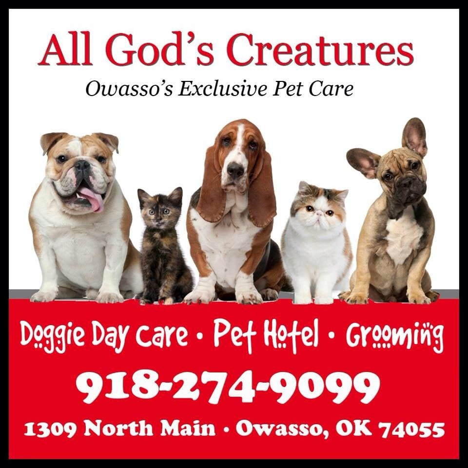 All God's Creatures: 1309 N Main St, Owasso, OK