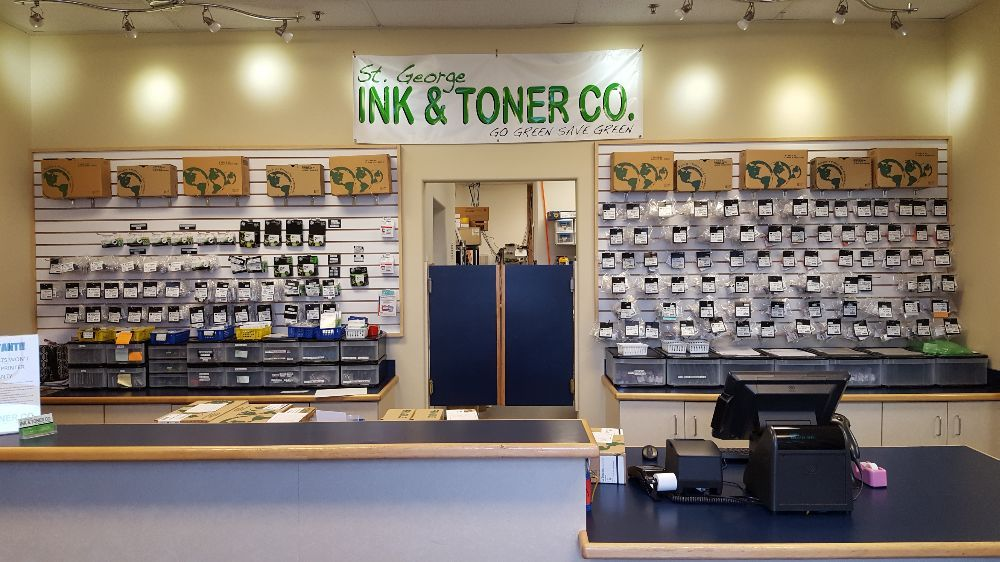 St George Ink & Toner Co: 42 S River Rd, St. George, UT