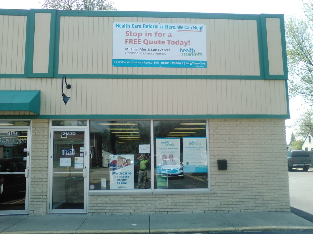 HealthMarkets Insurance - Michael Ales | 21370 Cass Avenue, Clinton Twp, MI, 48036 | +1 (586) 556-7666