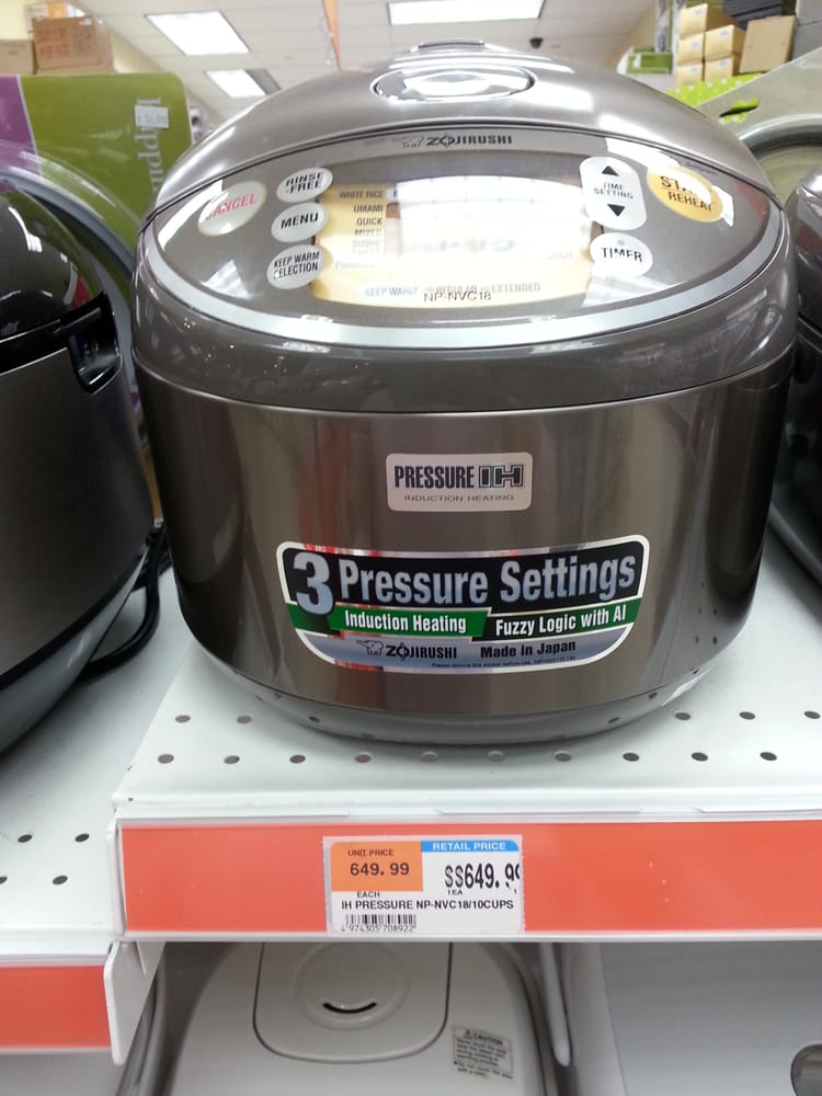 You're looking at an almost $700 rice cooker! - Yelp