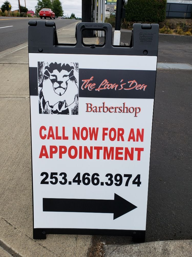 The Lions Den Barbershop South Hill   812 39th Ave SW, Puyallup, WA, 98373   +1 (253) 466-3974