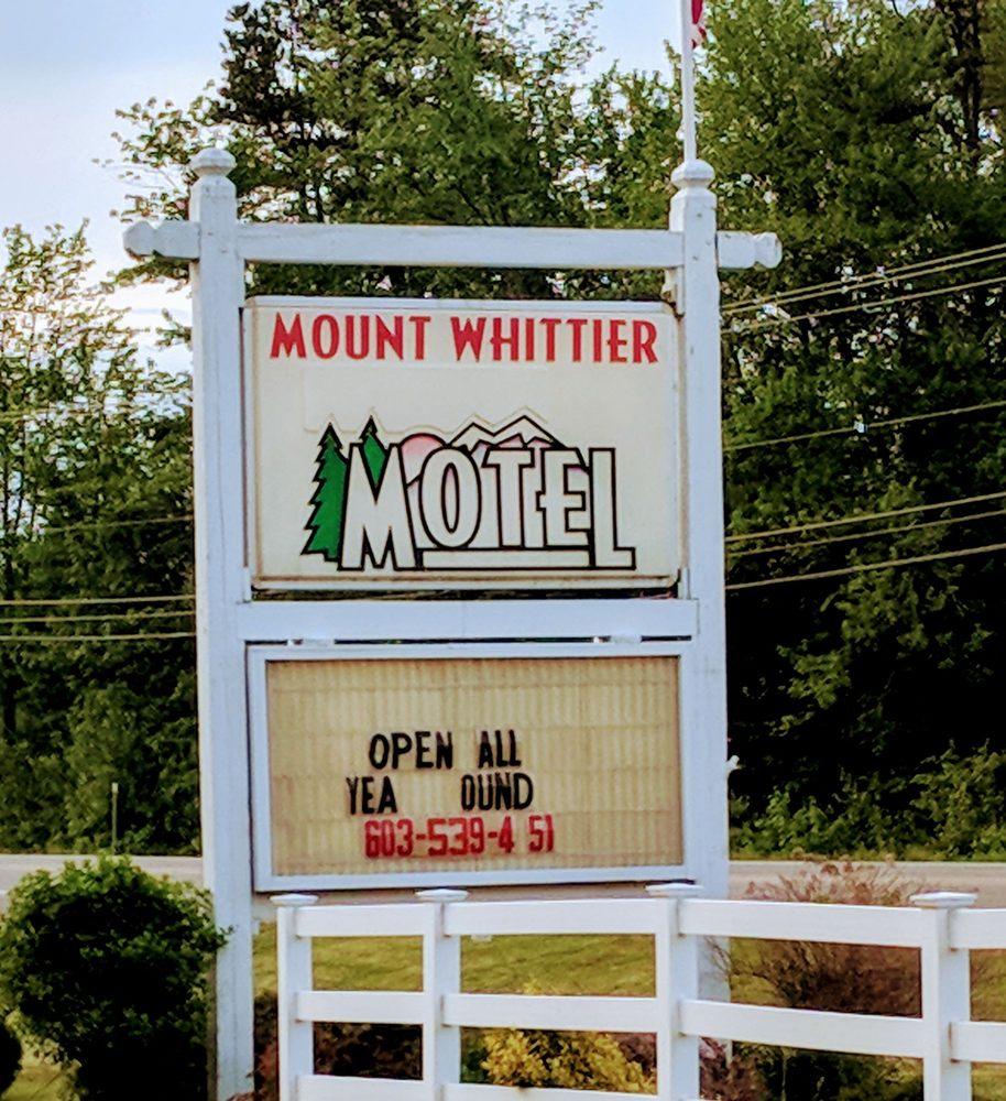 Mount Whittier Motel: 1695 Rte 16, Ossipee, NH