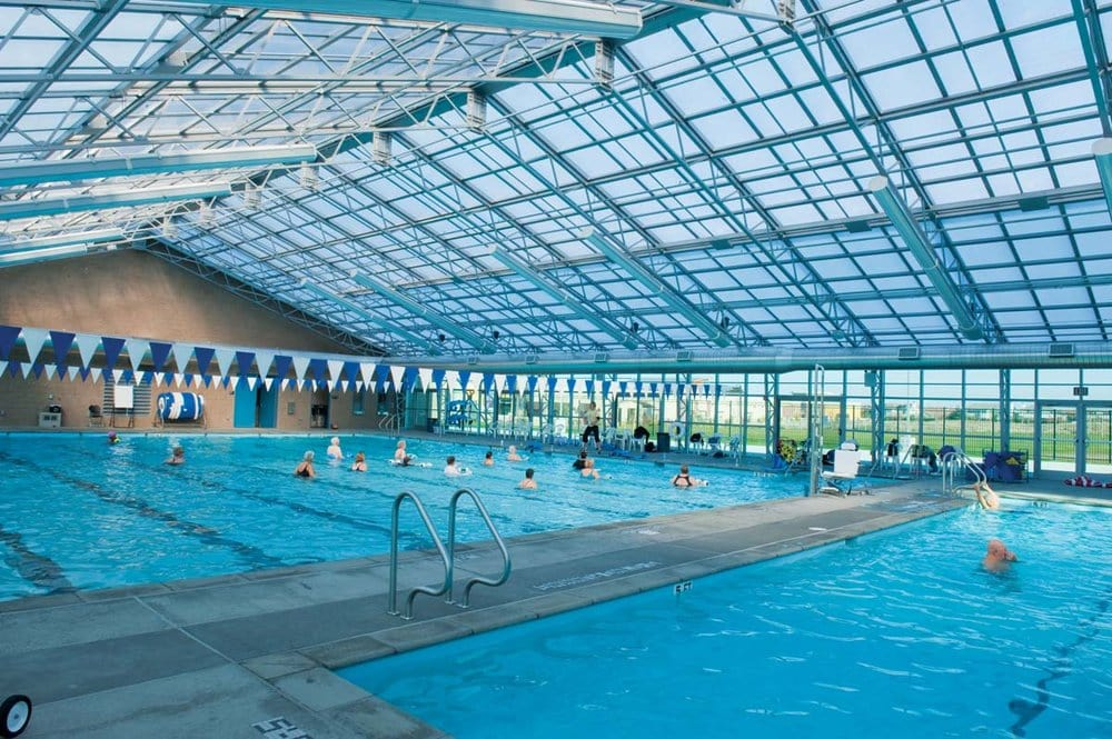 Water Fitness At The Indoor Pool Yelp