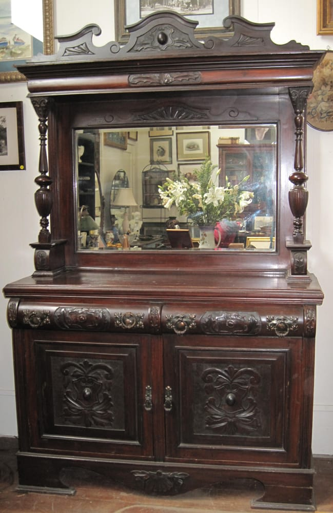 Magnificent Ornate Antique Sideboard Yelp