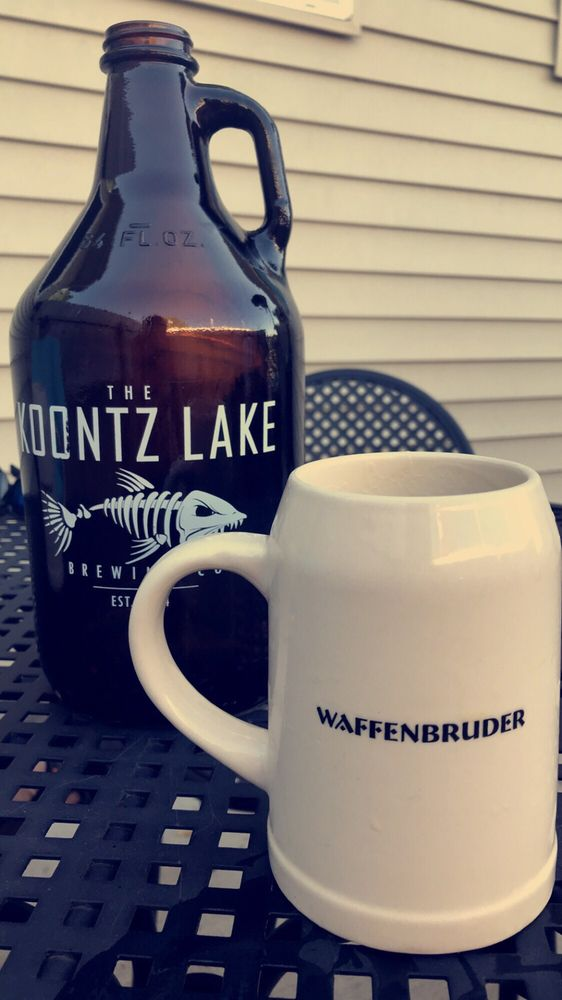 Food from Koontz Lake Brewing Co.