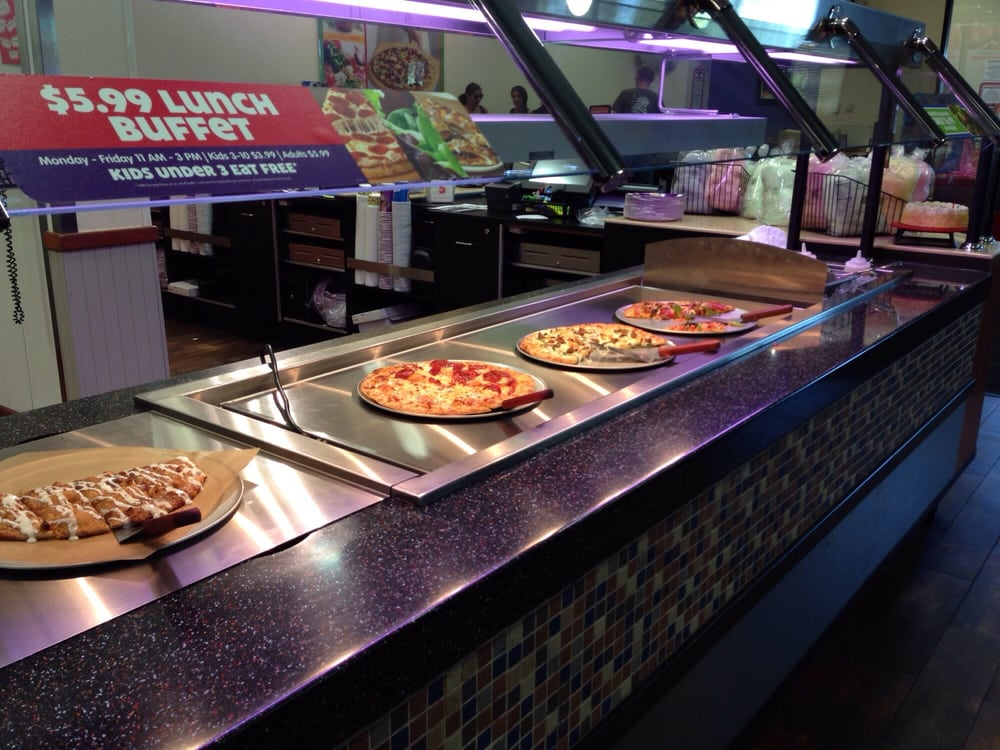we didn 39 t try it but heres a pic of the pizza buffet during weekdays 11 3 yelp. Black Bedroom Furniture Sets. Home Design Ideas