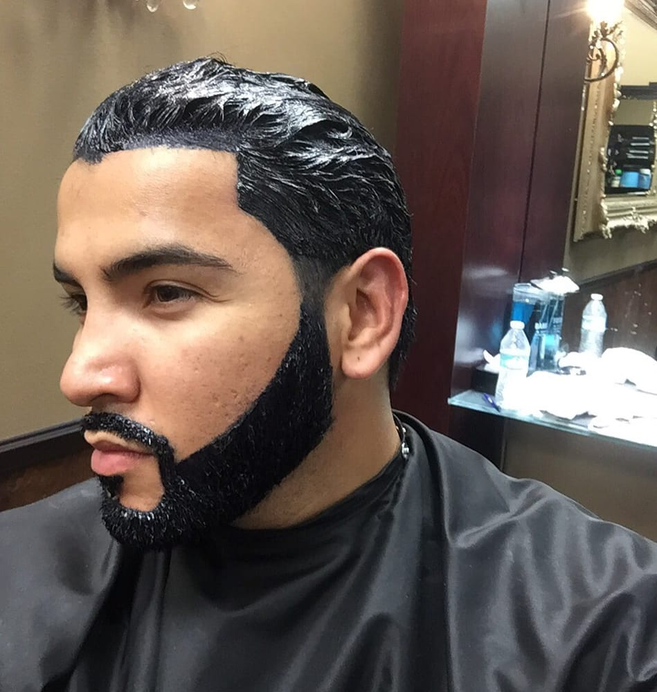 Beard dye and color for a fresh line up and thicker looking beard ...