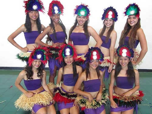 Tahitian costumes pictures