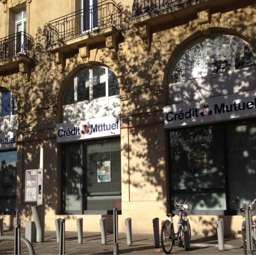 Cr dit mutuel 64 avenue thiers bank building - Cabinet radiologie avenue thiers bordeaux ...