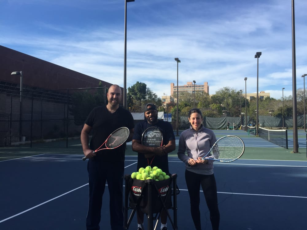 Photo of Tennis Lessons By Mcclain - San Francisco, CA, United States. Coach and Jarryd and angela