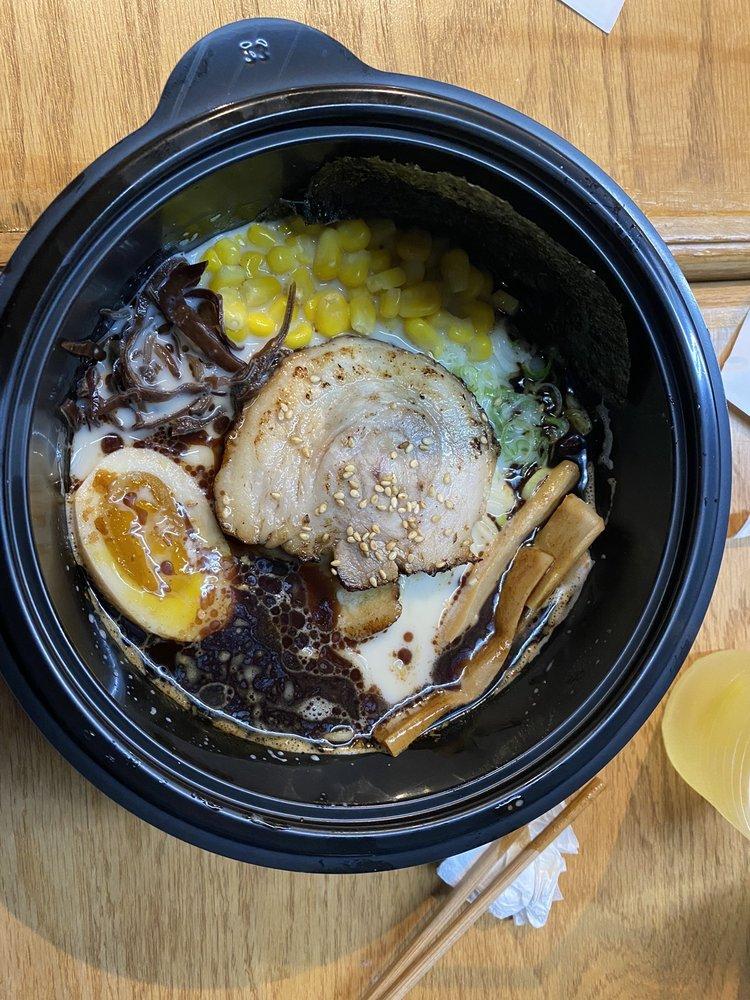Food from Ramen Jin