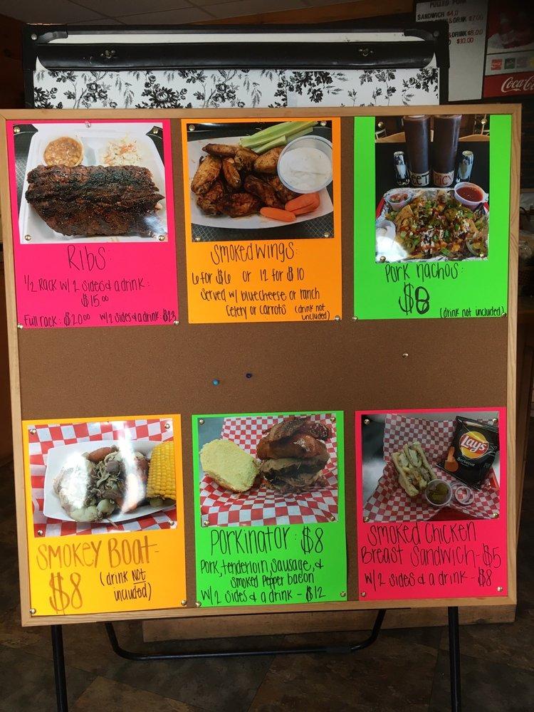 Food from Smokin Pig BBQ