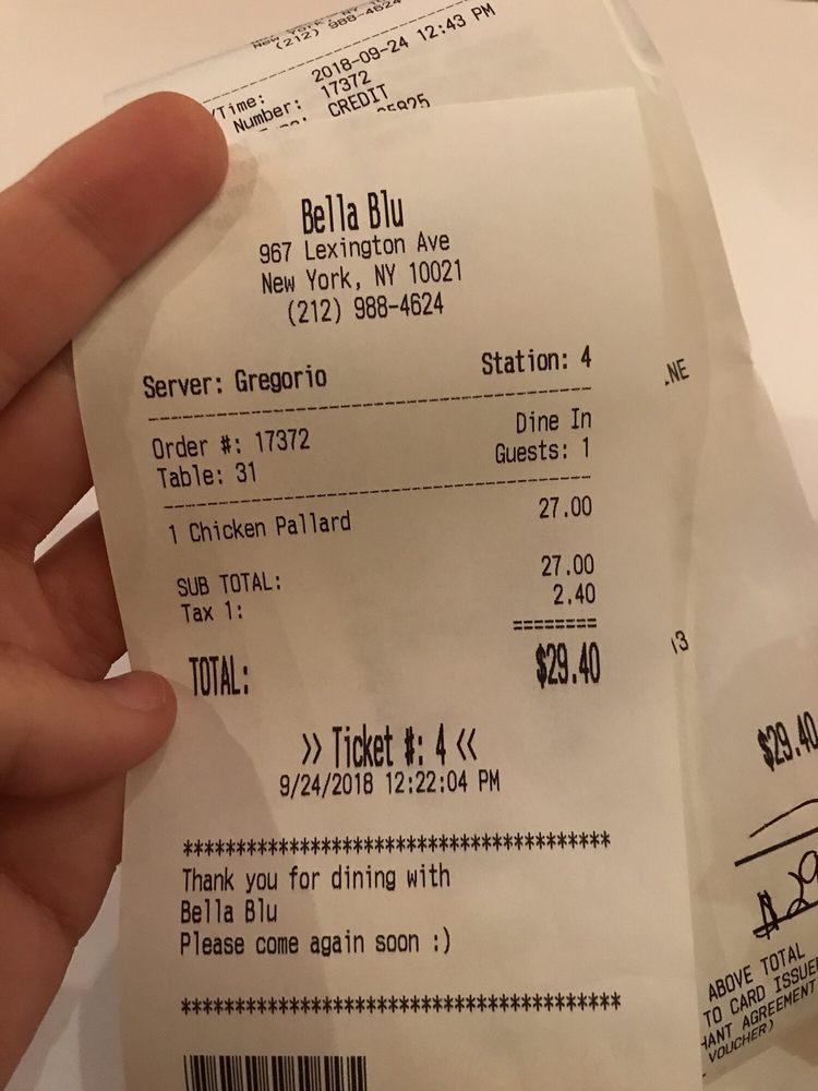 Bella Blu - Order Food Online - 59 Photos & 232 Reviews