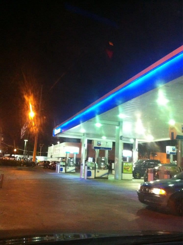 Chevron Stations: 801 S Le Jeune Rd, Miami, FL