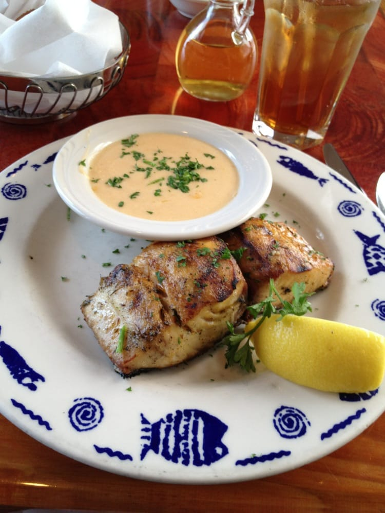 Grilled mahi with champagne lobster sauce yelp for Lynnhaven fish house
