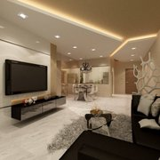 Entertainment Photo Of Room Home Contemporary Furniture Linden Nj United States