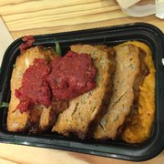 ... Photo Of Snap Kitchen   Chicago, IL, United States. Turkey Meatloaf  With Mashed
