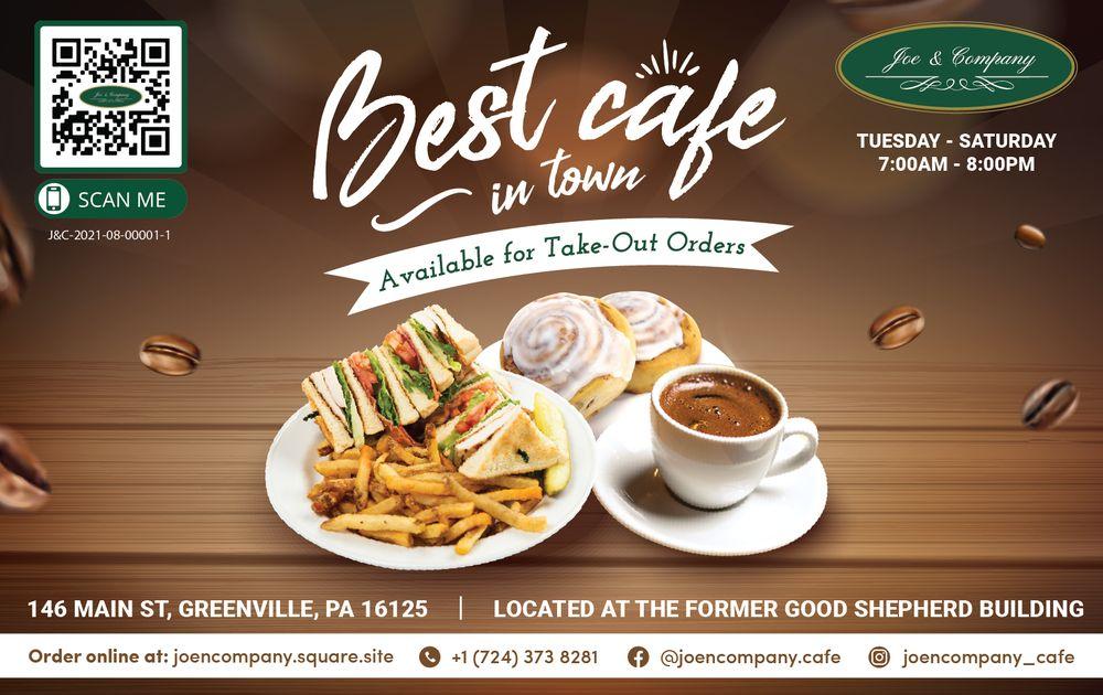 Joe & Company Cafe & Restaurant: 146 Main St, Greenville, PA