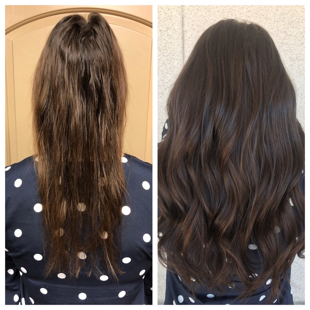 Before And After Hot Heads Extensions Yelp