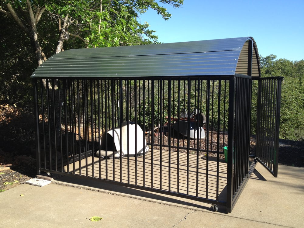 Photo Of Duggeru0027s Welding   Placerville, CA, United States. Dog Run With  Roof