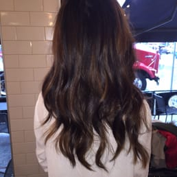 Balayage by kaylie yelp for Aaron emanuel salon nyc