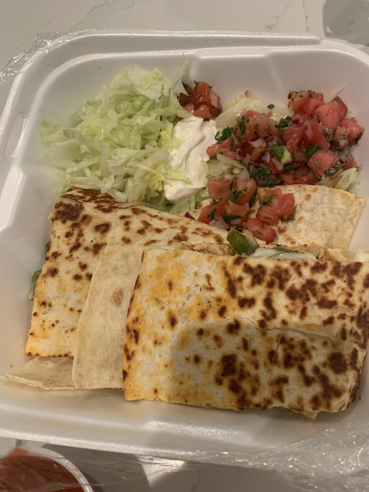 Food from Taco Libre- St Augustine