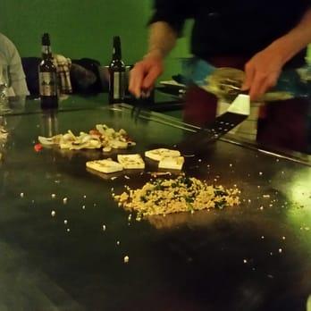 Teppanyaki yonghua ferm japonais 50 bd de picpus - Table de cuisson japonaise teppanyaki ...