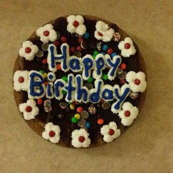 Yogurt Express Cookie Cake