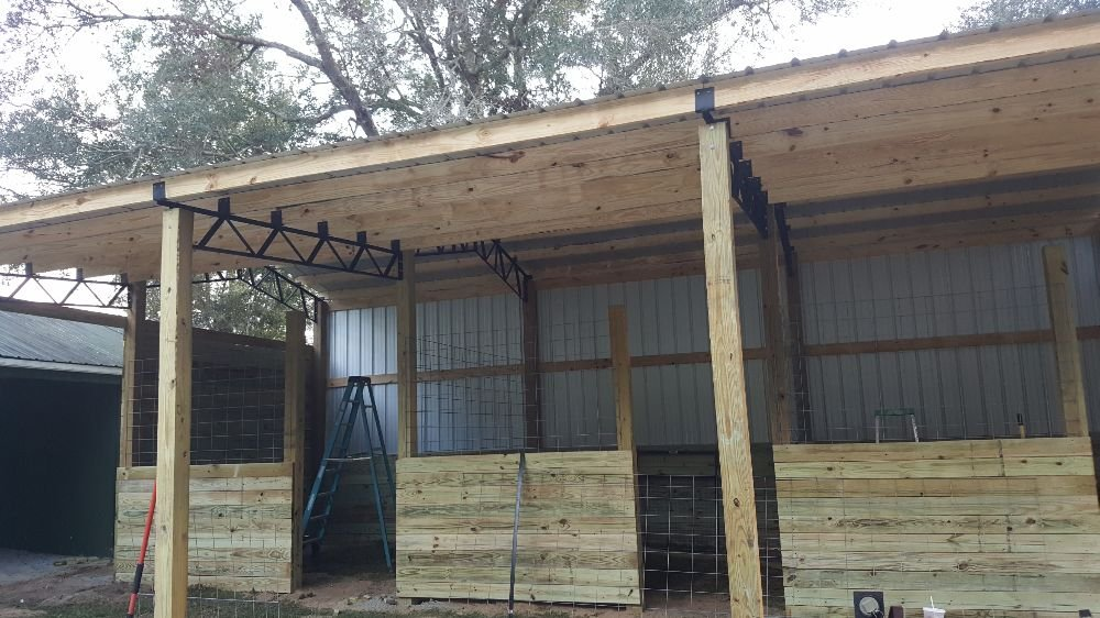 Almost Completed Adding Stalls To A Barn We Installed Yelp