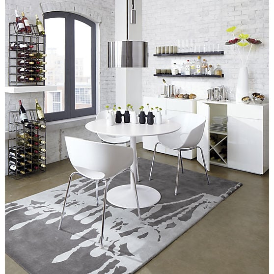 Odyssey White Dining Table Yelp - Cb2 white dining table