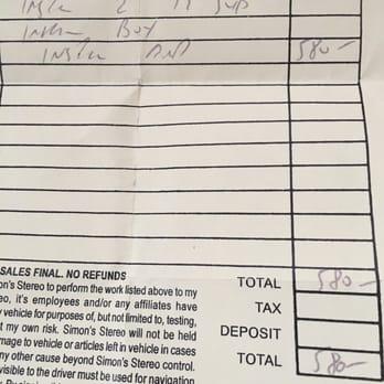 Simon's Stereo 50 s & 251 Reviews Car Stereo