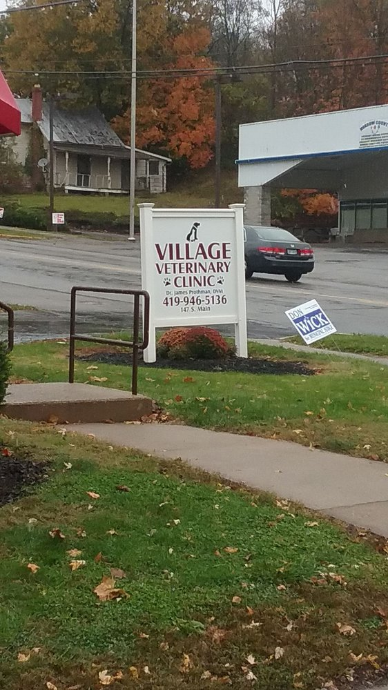 Village Veterinary Clinic: 147 S Main St, Mount Gilead, OH
