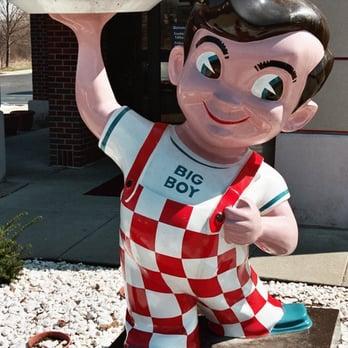 Big Boy Restaurant Food Brawny Lad Image
