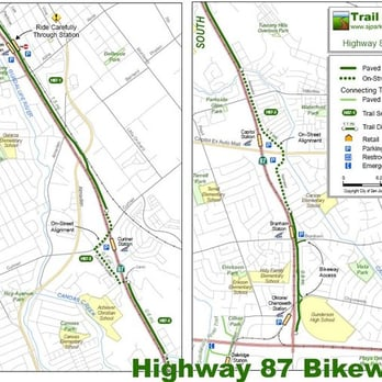 Highway Bikeway Active Life San Jose CA Yelp - San jose bike trails map