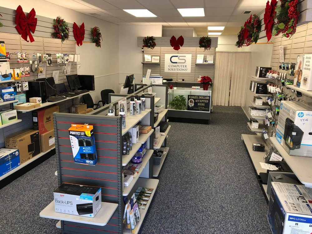 Computer Solutions: 411 S 1st St, Haskell, TX