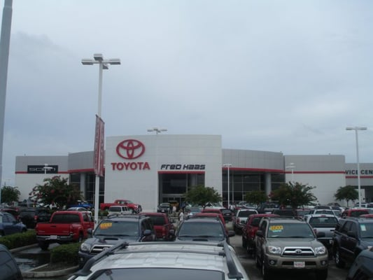 fred haas toyota world car dealers spring tx yelp. Black Bedroom Furniture Sets. Home Design Ideas