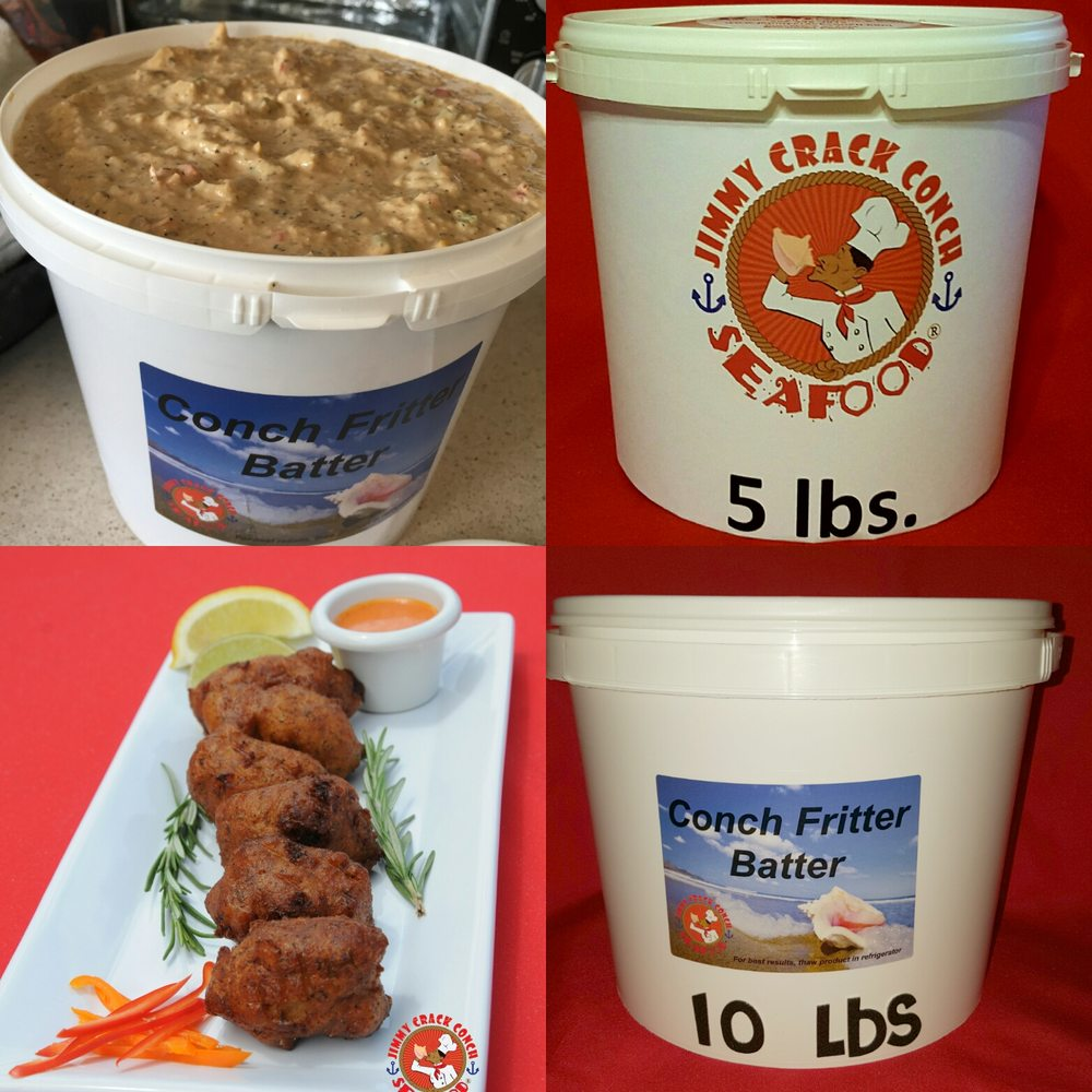 how to make conch fritter batter