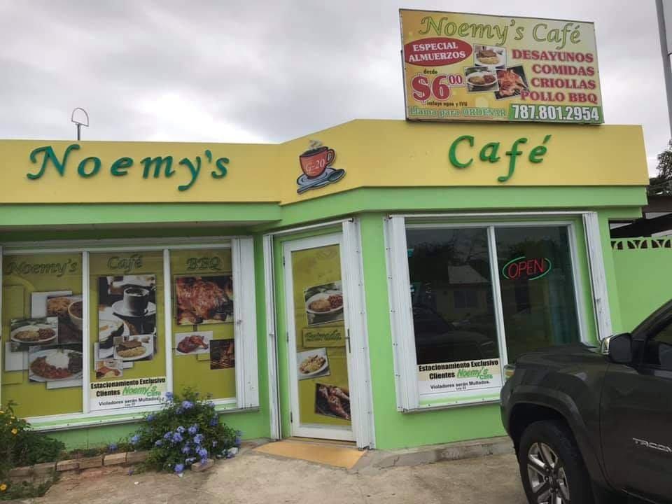 Noemy's Cafe: Cll Principal S/N, Fajardo, PR