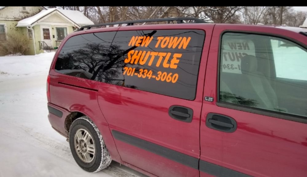 New Town Shuttle: 8226 39th St NW, New Town, ND