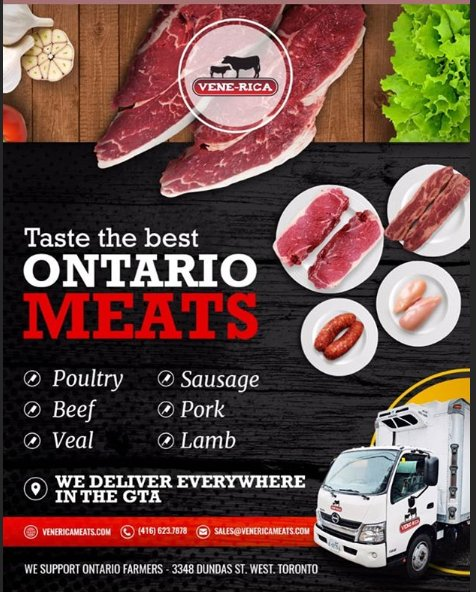 Wholesale Venerica Meats - Meat Shops - 3348 Dundas Street W