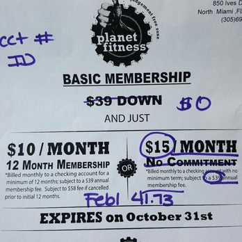 planet fitness annual fee month