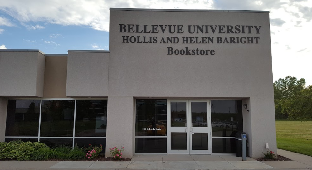 Bellevue University Hollis and Helen Baright Bookstore
